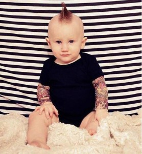 Fashionable-Baby-Bedding-Tattoo-Design