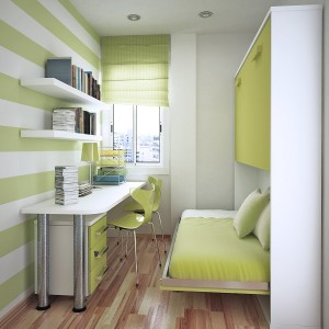 Small-Space-In-A-Green-Stripe-Style-Room