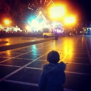 daphne at the amusement park