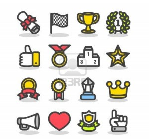 11664188-awards--prizes-icon-set