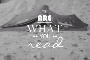 you are what you read