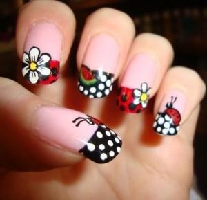ladybug-nails