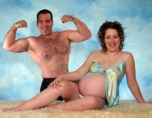 pregnant bodybuilder photos