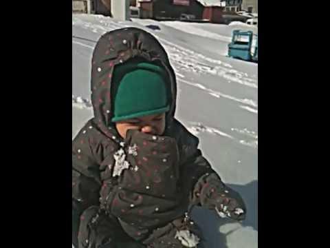 Στα Χιόνια με το Μωρό