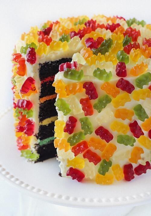 gummy bear cake