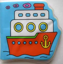 bath boat toy book