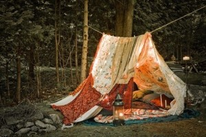 hippy adobe diy tent colorful