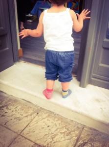 fashion for children jeans socks