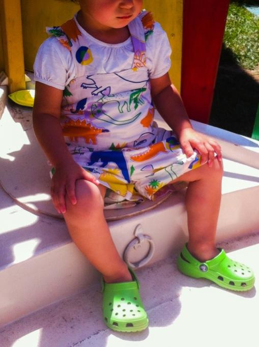 toddler wearing stella mc cartney