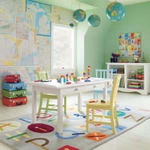 παιδικό δωμάτιο χάρτες