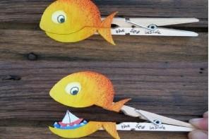 Ψαρένιο μανταλάκι