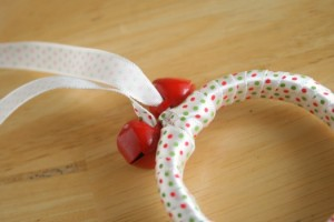 Tying-Bells-to-Ribbon