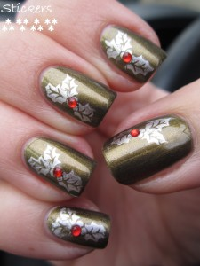 Xmas 2012 mani Look by Bipa  1