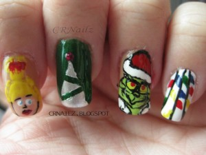 horrible xmas mani