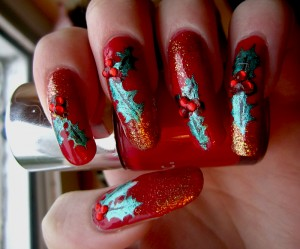 xmas mani long horrible