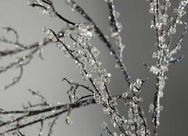 Χειμερινή διακόσμηση: Παγωμένα κλαδιά