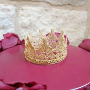 Gold Glamour Dust Crown