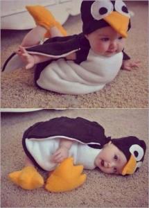 penguin halloween costume babies carnival
