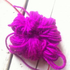 pompon pompom diy yarn purple great fastest ever