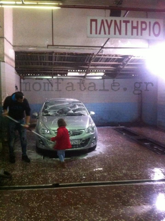 carwash toddler girl like a boss