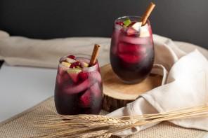 DIY-Γιορτινά ποτά: Σαγκρία με μηλίτη