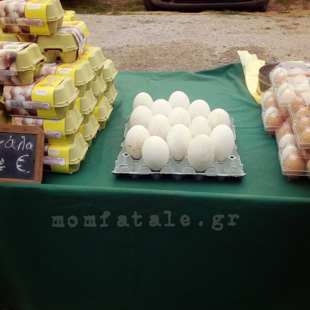 βιολογικά αβγά χήνας