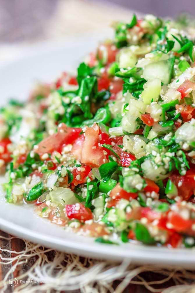 ταμπουλε σαλάτα