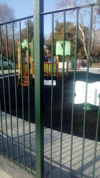 new playground downtown thessaloniki καινουρια παιδικη χαρά θεσσαλονικη