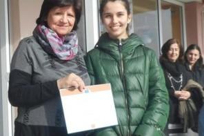 """Η Ελληνίδα Νικήτρια του Διαγωνισμού """"Juvenes Translatores': Θεοδώρα Πλιάτσικα"""
