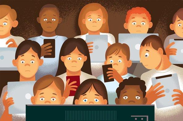 παιδιά διαδίκτυο