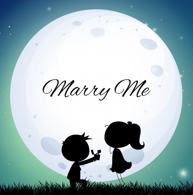 moon proposal marriage πρόταση γάμου στο φεγγάρι