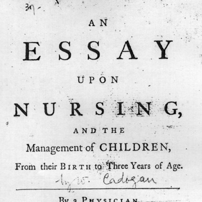 an essay upon nursing and the management of children