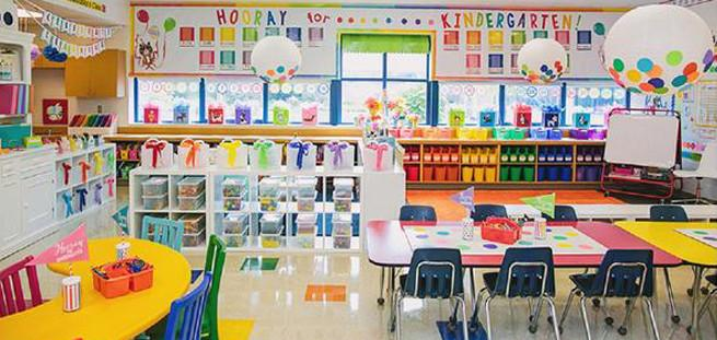classroom colorful