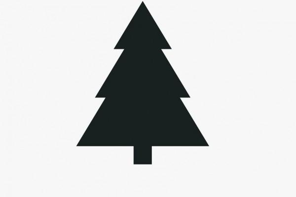 χριστουγεννιάτικο δεντρο μινιμαλ