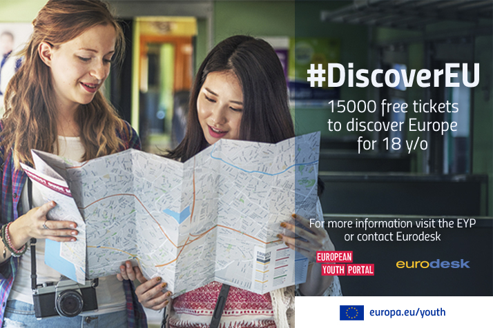 18 χρονων δώρο discover EU