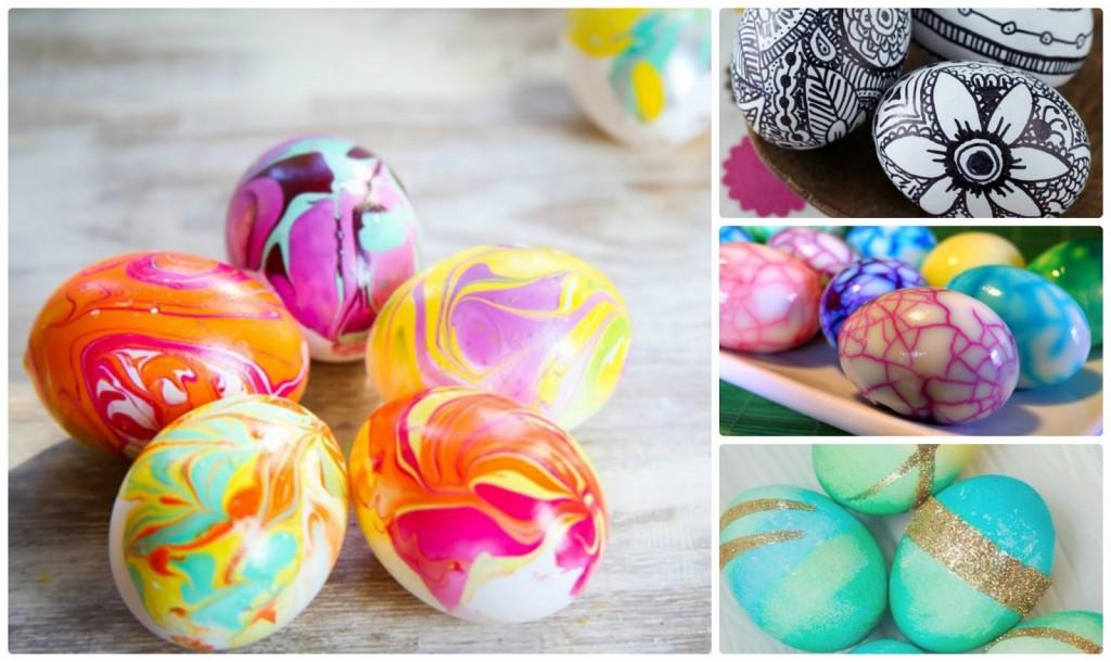 αυγα πασχαλινά ιδιαίτερα βαψίματα