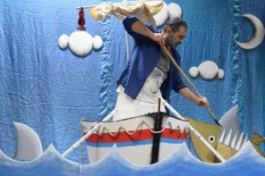 Παιδική Θέατρο- Θεατρική Εταιρία Νεφέλες: Ο Γέρος και η Θάλασσα