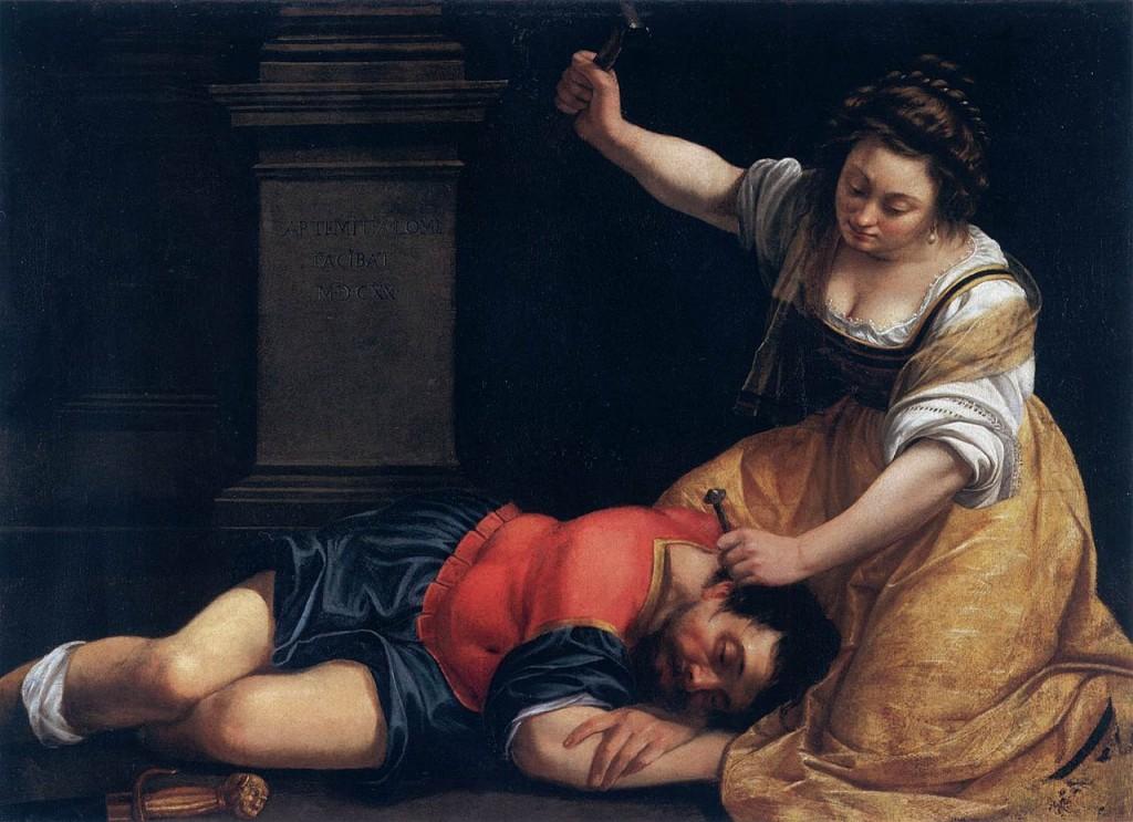 jael and sisera 1620