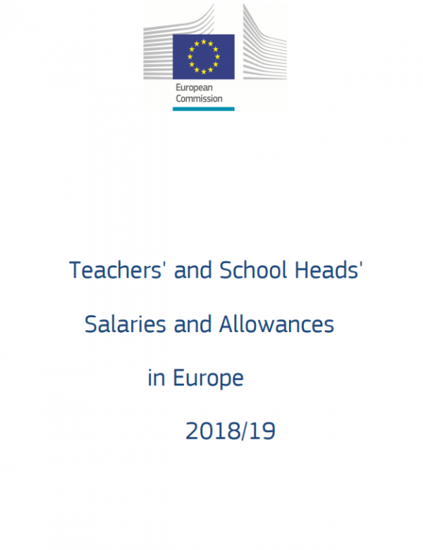 cover report teacher salaries