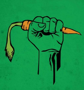 carrot-fist
