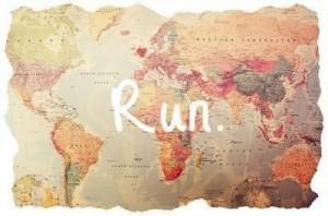 τασεις φυγής run trip travel