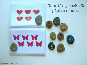 Picture book for counting rocks