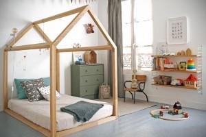 κρεβάτι σπιτάκι παιδικό δωμάτιο