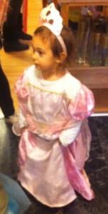 tiara and pink princess dress toddlers