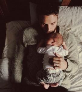 μπαμπάς και μωρό