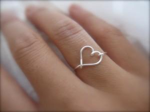 δαχτυλίδι καρδιά αγιου βαλεντίνου