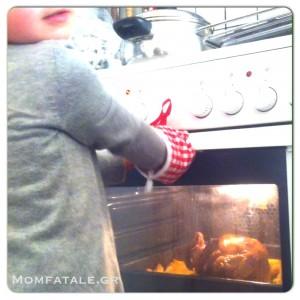 συνταγή κοτόπουλο με πατάτες φούρνου