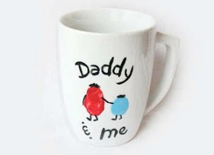 2015 DIY Fathers Day Gifts from Daughter, Toddler, Baby