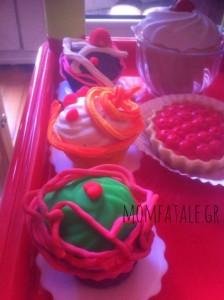 playdoh cupcakes