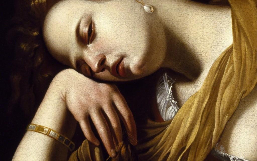 Artemisia-Gentileschi-Mary-Magdalene-as-Melancholy-Museo-Soumaya-Mexico-City-detail-1